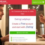 My Ladyboy Cupid home page of the site